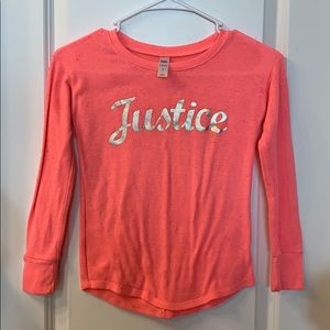 Justice girls long sleeve